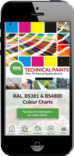 free app for hd paint colour charts