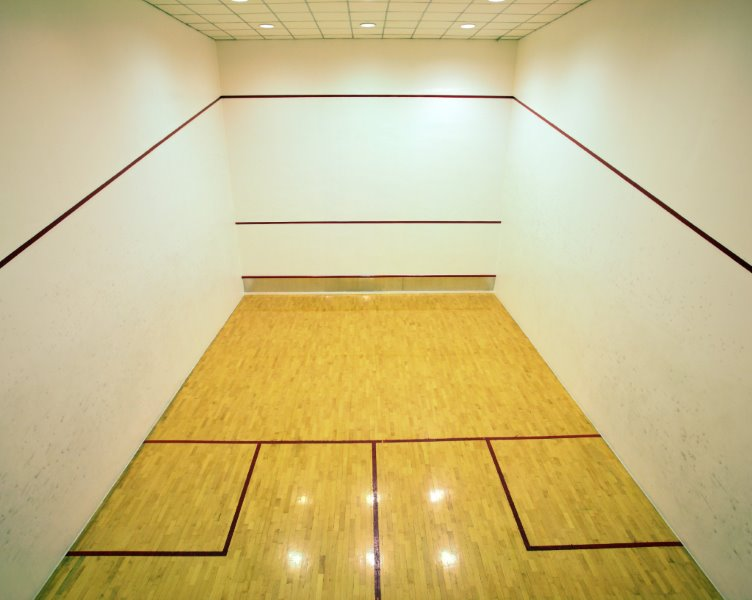 Squash Court Wall Paint, Eggshell White & Colours A147