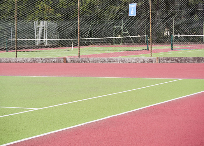 paint for tennis courts and squash courts, muga paint
