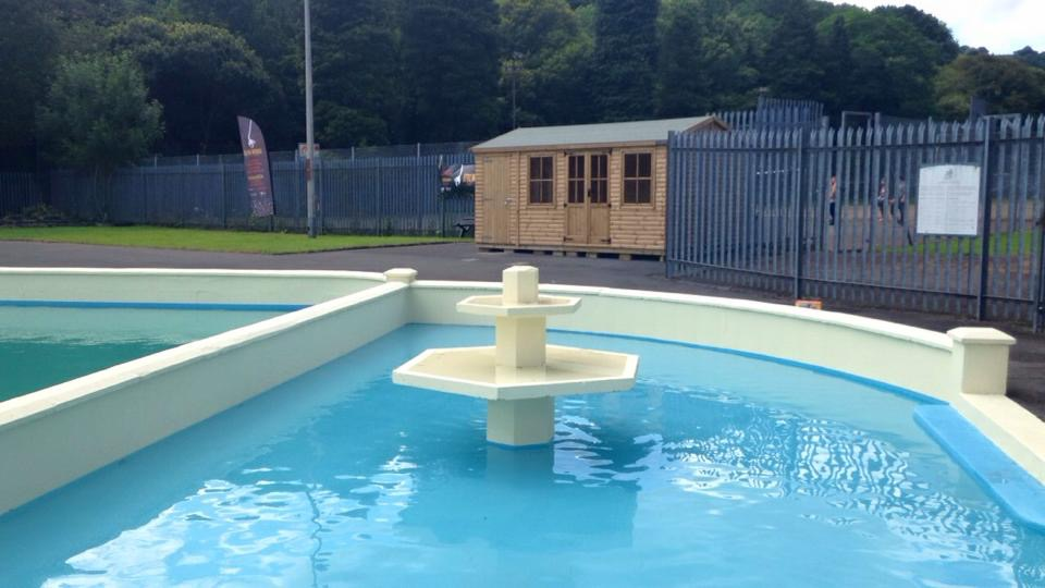 outdoor lido paddling pools Water Based Acrylic Paddling Pool Paint